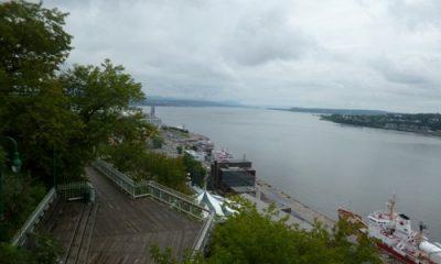 Vue sur St-Laurent, de la Citadelle