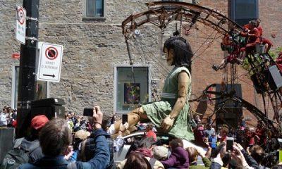 Géants à Montréal