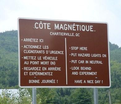 côte magnétique