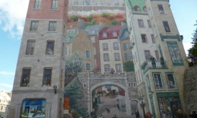 Fresque des Québécois