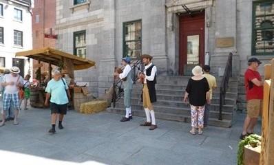 Musiciens de la Nouvelle-France