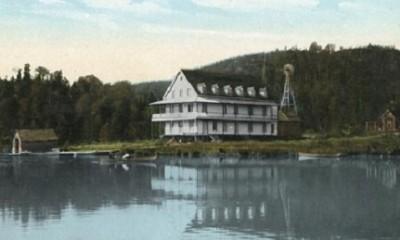 maison de Lac-des-seize-îles
