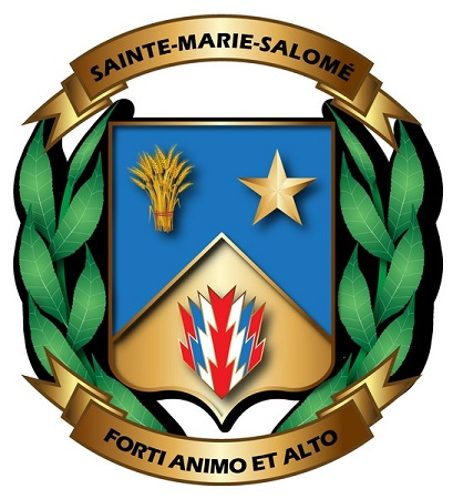 Armoiries de Sainte-Marie-Salomé.