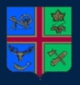 Armoiries de la municipalité de Sainte-Perpétue. Image libre de droits.