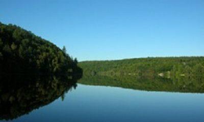Lac du Rocher, image libre de droits.