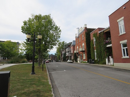 Terrasse Dufferin à Trois-Rivières. Photo de Megan Jorgensen.