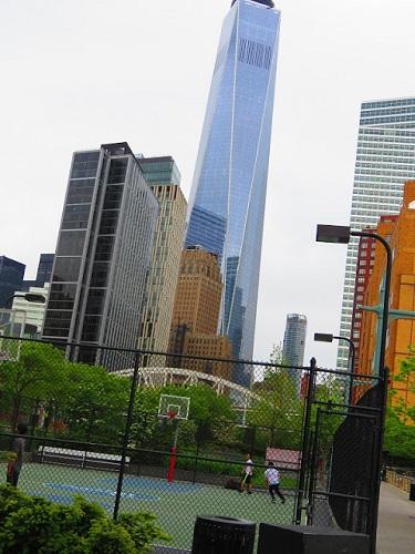 La tour à l'honneur des victimes d'un autre attentat, celui du 11 septembre 2001. Photo : Megan Jorgensen.