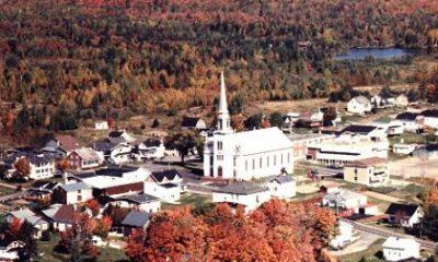 Centre-ville de Sainte-Sabine, photographie du site web de la municipalité.