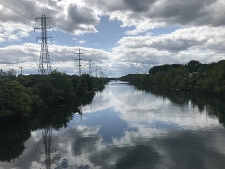 Canal de l'Aqueduc de Montréal. Photographie de Megan Jorgensen.