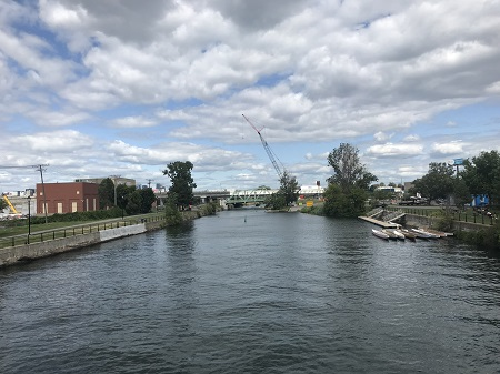 Canal de Lachine. Photographie de Megan Jorgensen.