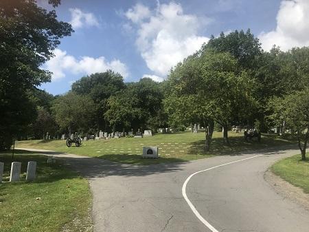 Section G6 du cimetière Mont-Royal