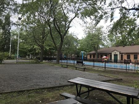 Parc de l'Écoquartier Sud-Ouest. Photographie de Megan Jorgensen.
