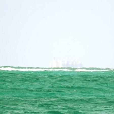Un château dans l'air. Les Caraïbes. Photographie par Megan Jorgensen.