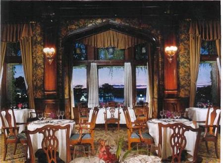 L'intérieur de l'hôtel Fairmont Empress. Image libre de droits.