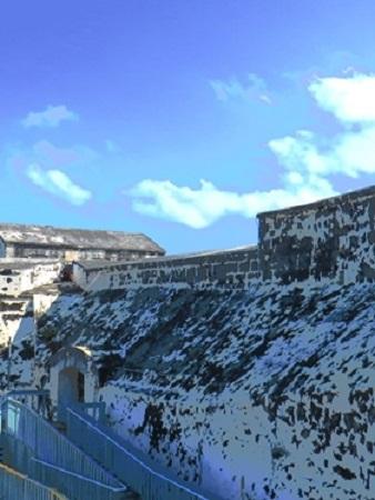 Le Fort Charlotte dans la ville de Nassau. Crédit photo : Megan Jorgensen.