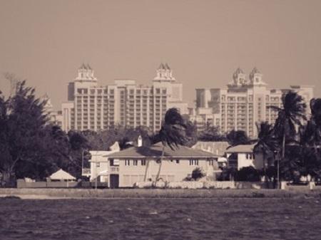 L'Hôtel Atlantis aux Bahamas. Photo par Megan Jorgensen.