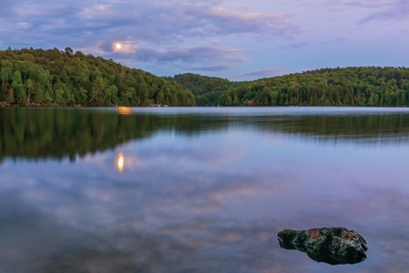 Lac Bibite. Source de la photographie : Site Internet de Lac-Tremblant-Nord. Photographe Laurie Ann Quigley.