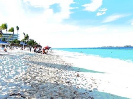 Le sable des Bahamas. Photo : Megan Jorgensen.