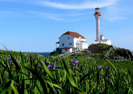 Phare de Yarmouth. Copyright © Cotes acadiennes et Yarmouth.