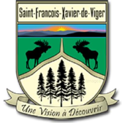 Armoiries de Saint-François-Xavier-de-Viger. Une vision à découvrir. Source de l'image : Site Web de la municipalité.