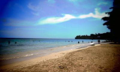 """""""Je regarde un moment le miroir pendu à un mur : je fais toujours ça avant de commencer un tableau. Oubliez tout… Peignez jusqu'à ce que vous ayez le sentiment que votre vie en dépend !"""" (Olivier Paquet La première œuvre). Le 10 juillet les Bahamas proclament l'indépendance des îles. Photographie de Megan Jorgensen. Une plage à Nassau."""