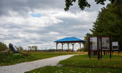 Parc des loisirs de Saint-Georges-de-Clarenceville. Source de l'image : Site Web de la municipalité.
