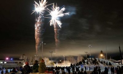Festival des glaces. Source de la photographie : Site Web de la municipalité. Image libre de droits.