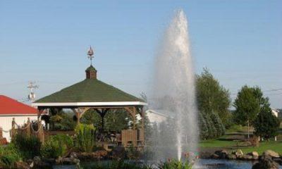 Parc Millénaire de Saint-Frédéric. Source de la photographie : Site Web de la municipalté.