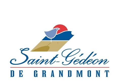 Logo de Saint-Gédéon-de-Grandmont. Source de l'image : Site Web de la municipalité. Image libre de droits.