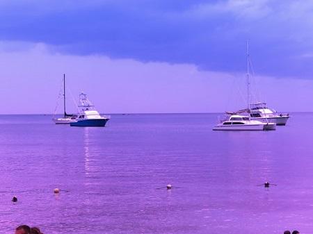 De petits bateaux de plaisance à Jamaïca. Photo : Megan Jorgensen.