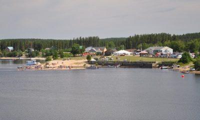 Centre de villégiature Lac à Jim. Source de la photographie : Site Web de la municipalité Saint-Thomas-Didyme.