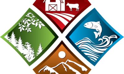 Logo de Saint-Alphonse. Source de l'image : site web de la municipalité. Image libre de droits.