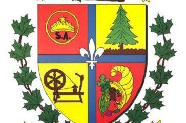 Armoiries de Ste-Angèle-de-Prémont.