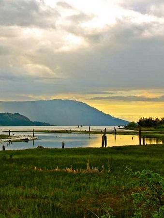 Estuaire de la vallée de Cowichan. Source de l'image : cowichantribes.com , site Web de la communauté des Premières nations de Cowichan.