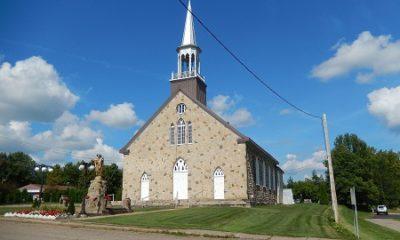 Église paroissiale de la municipalité de Saint-Sévère.