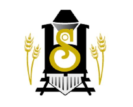Logo de la municipalité d'Hébertville-Station. Source de l'image : site Web de la municipalité, image libre de droits.