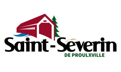 Logo actuel de Saint-Séverin. Source de l'image : Site Web de la municipalité.