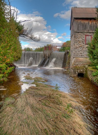 Moulin La Pierre. Source de l'image : Site Web de la municipalité de Saint-Norbert-d'Arthabaska.