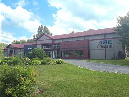 Centre de la Biodiversité à Bécancour. Photo : Centre de la Biodiversité.
