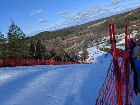 Station de ski. Photographie de Nastena Ustinova.