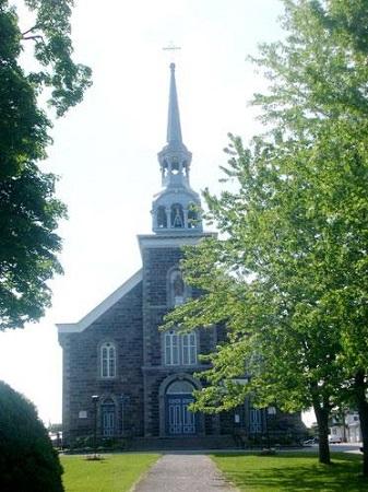 Église de Saint-Liboire. Photo : Répertoire du patrimoine du Québec.