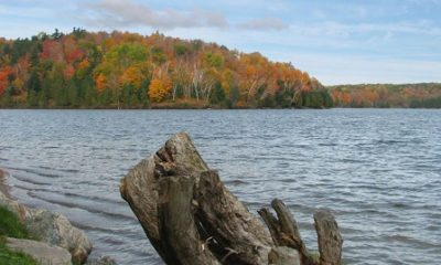 Lac Meech. Photographie de Wilder Menzed (Lezumbalabernejena). Image libre de droits.