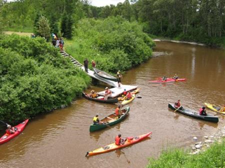 Environs de Sainte-Gertrude-Manneville. Source de la photo : Site Web de la municipalité.