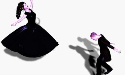 « La suggestion consiste à faire dans l'esprit des autres une petite incision où l'on met une idée à soi. » (Victor Hugo). Une danse suggestive. Illustration de Megan Jorgensen.