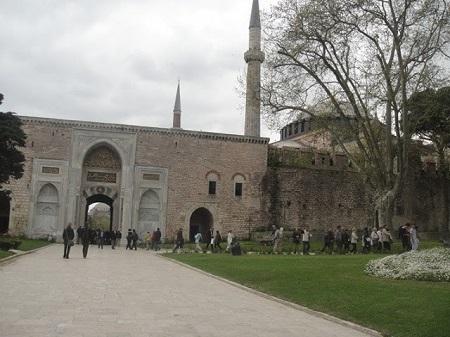 Palais du sultan à Istanbul. Photographie de Megan Jorgensen.