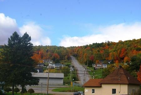 Village de Saint-Damien. Source de l'image : Site Web de la municipalité de paroisse de Saint-Damien.