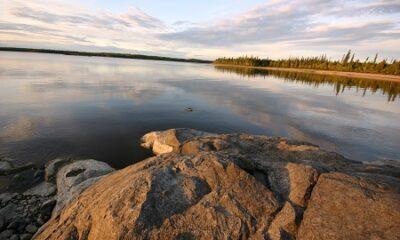 Lac Matagami. Photo libre de droits. Auteur : TOBound.