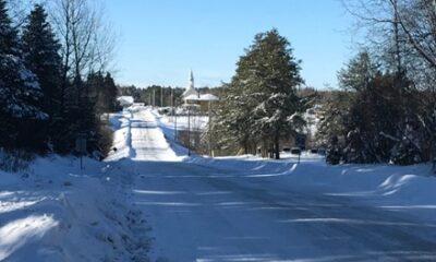 Ce chemin mène vers la municipalité de paroisse de Saint-René. Source de la photographie : Site Web de Saint-René.