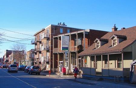 Rue St-Jacques à Ville Saint-Pierre