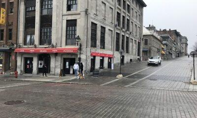 Centre-ville de Montréal lors de la pandémie de 2020. Photo de GrandQuebec.com.
